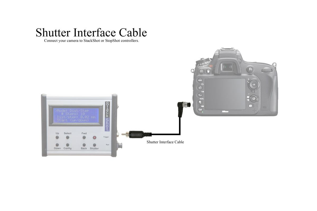 Shutter Interface Cable