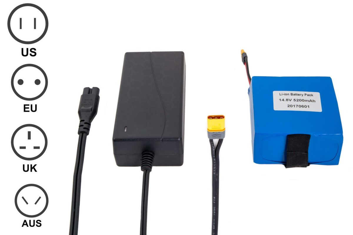 Scout Camera Box Li-Ion Battery with Charger