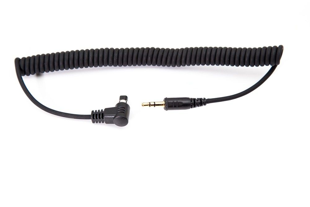 3.5 mm Coiled Shutter Interface Cable