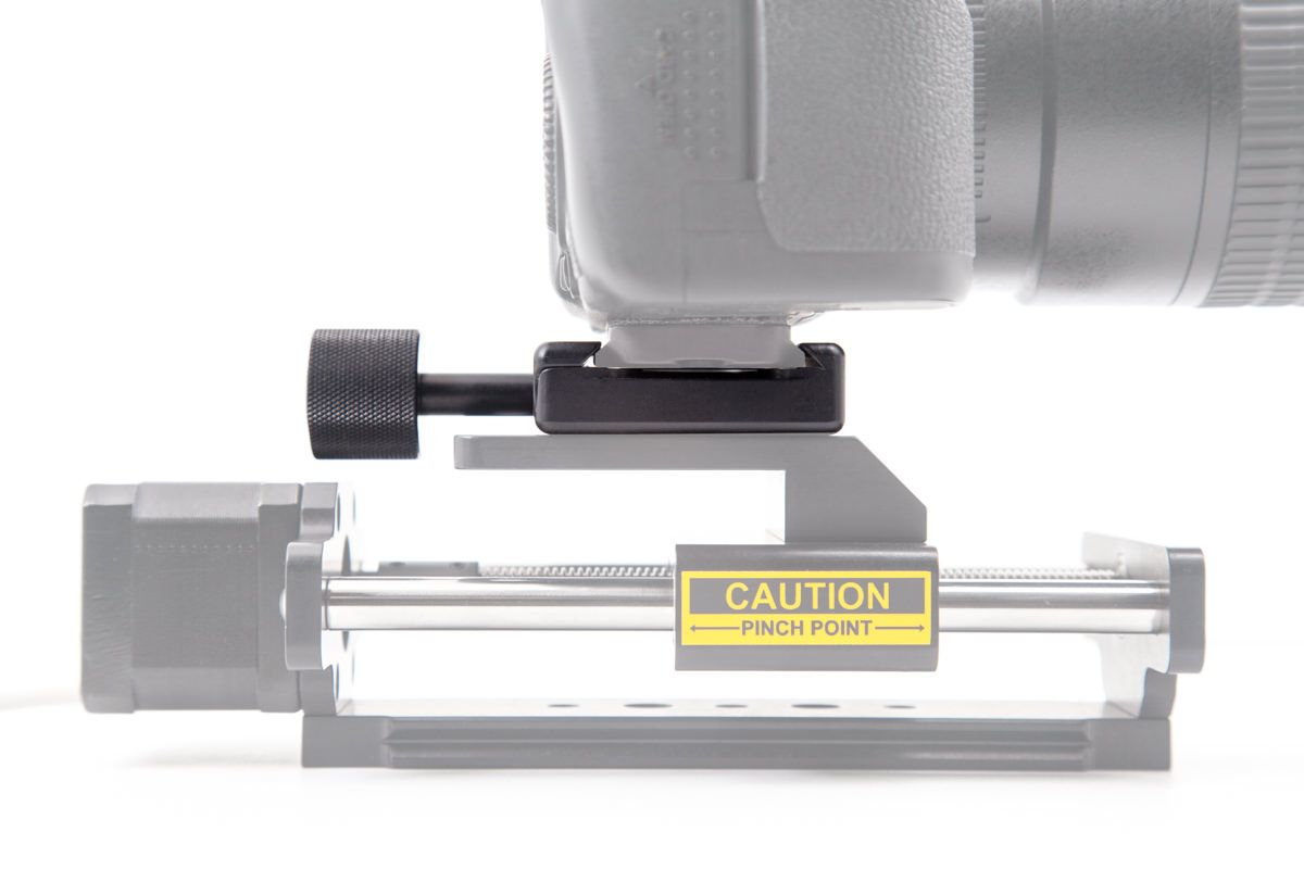 Quick Release Clamped to P-5 Camera Plate