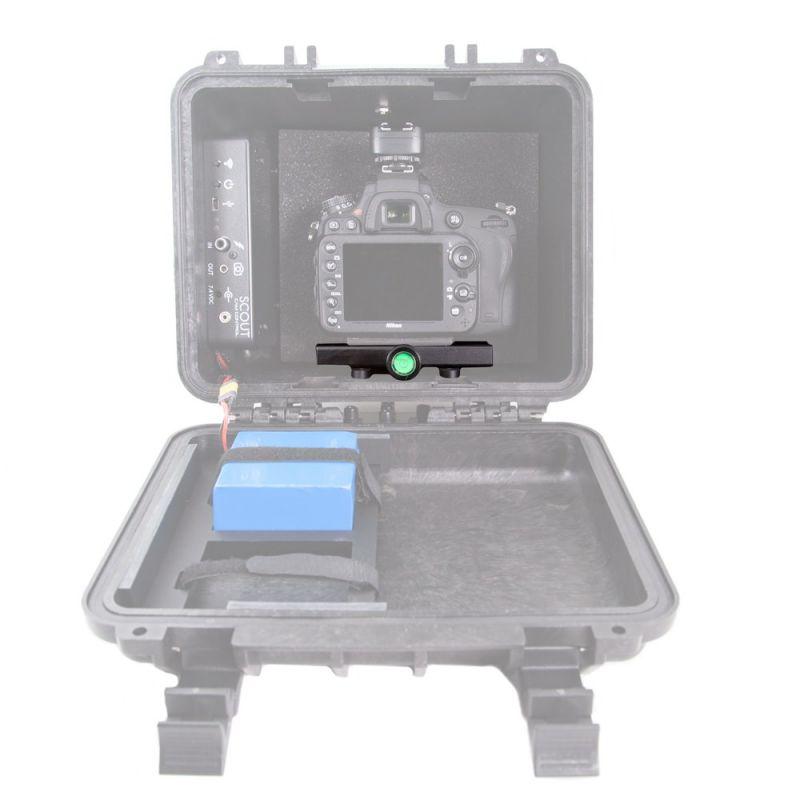 Camera Box Clamp Upgrade Installed