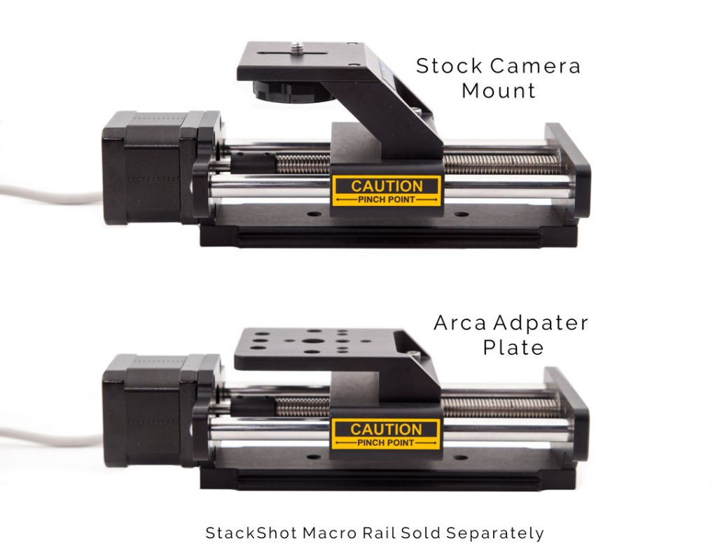 Stock vs Arca Mounting Options