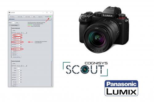 Scout Camera Box and Lumix Cameras