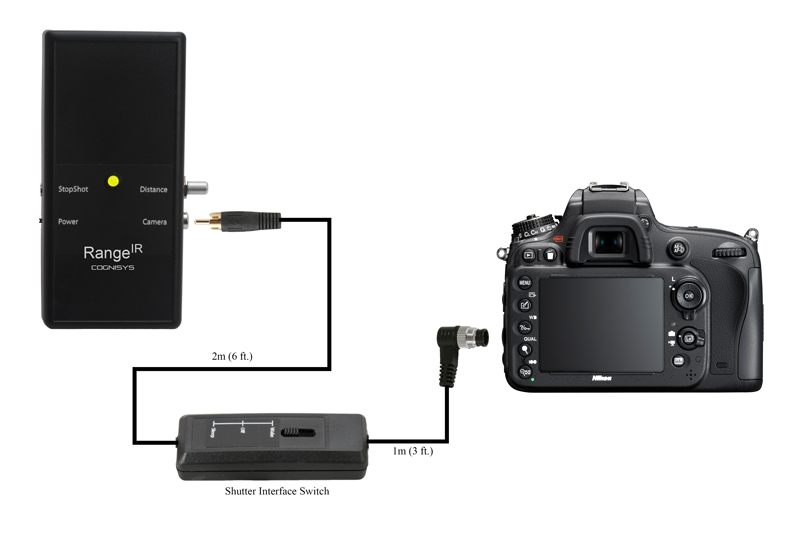 RangeIR connection to camera