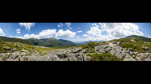 Panorama from Mt. Washington