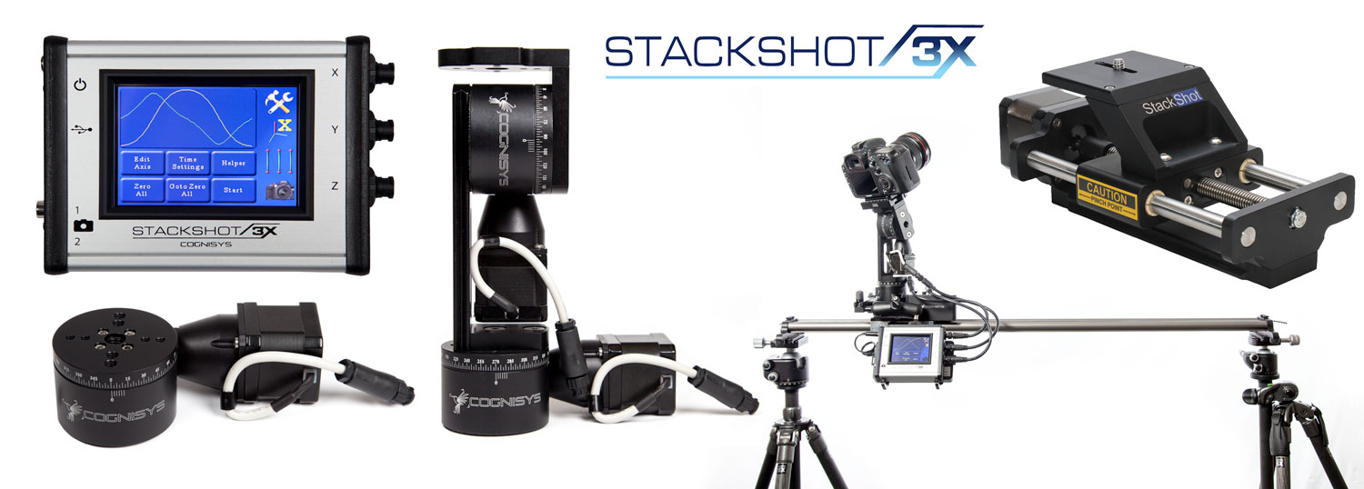 StackShot 3X and Pan Tilt Setup